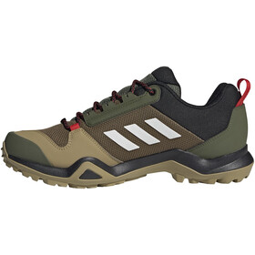 adidas TERREX AX3 Gore-Tex Hiking Shoes Waterproof Men wild pine/crystal white/vivid red